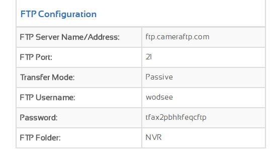 试用CameraFTP提供的摄像机云存储功能